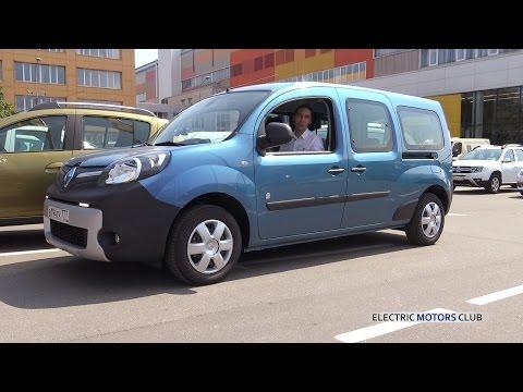 Обзор электромобиля Рено Кангу, часть 1 - Renault Kangoo Z.E. тест-драйв и видеообзор