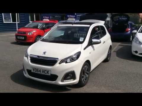 2014 Peugeot 108 3 Door 1.2 PureTech Allure TOP! VO64 HCK at St Peter's Peugeot Worcester