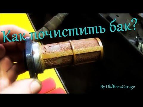 Автомобильный бензобак: устройство