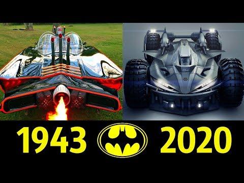 Бэтмобиль: как создавался автомобиль для Бэтмена