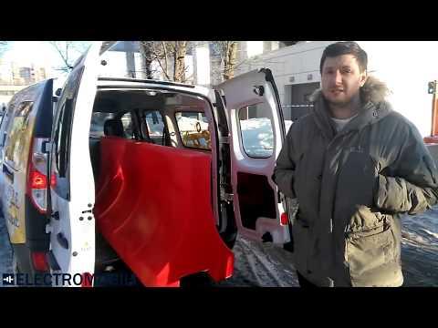 Renault Kangoo 33 Z.E. Обзор грузопассажирского электромобиля