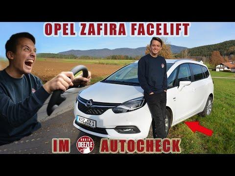Opel Zafira Test (deutsch) │2016 │Facelift